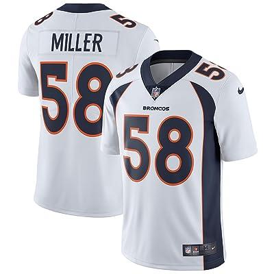 NIKE Von Miller Denver Broncos White Vapor Untouchable Limited Jersey - Men's Medium