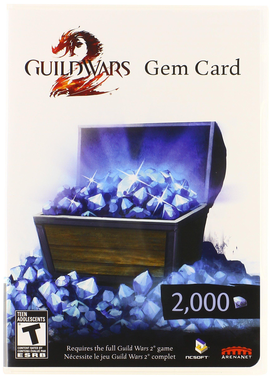 Guild Wars 2 Gem Card - PC by NCSOFT