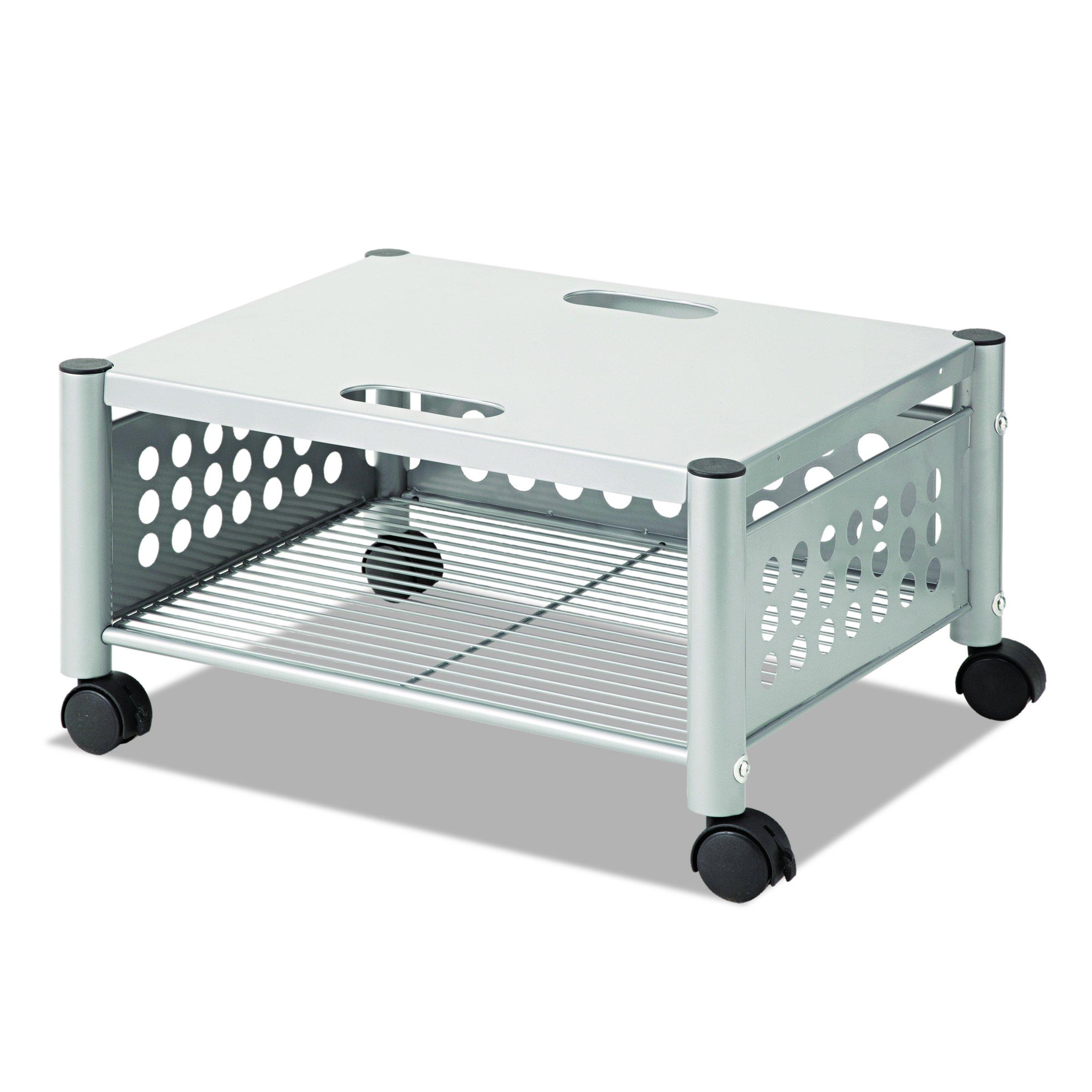 Vertiflex Mobile Underdesk Machine Stand, 21 x 17 x 11 Inches, Matte Gray (VF52005)