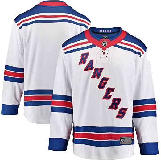 813a509a6 Outerstuff New York Rangers Blank White Infants Toddler Away Premier Jersey  (2T-4T)