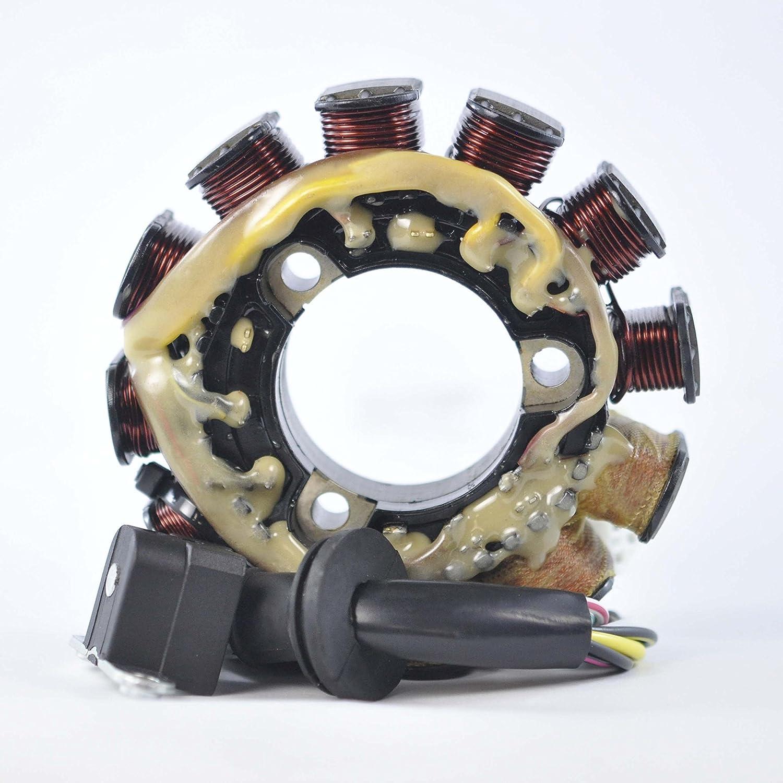 Stator for Yamaha 600 700 cc Carb L/C Mountain Max SX Venture V-Max (ER SX SXB XT XTC) 1997-2001 OEM Repl.# 8CH-85510-01-00 8CH-85510-00-00 8CH-85510-02-00 RMSTATOR