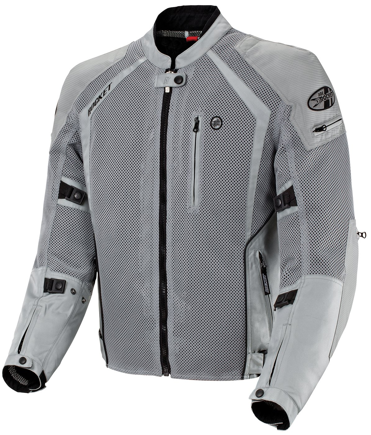 Joe Rocket Phoenix Ion Men's Mesh Motorcycle Jacket (Silver, X-Large) 1516-4515
