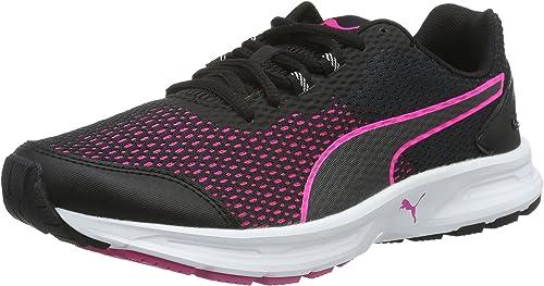Puma Descendant V4 - Zapatillas de atletismo para mujer, Negro ...