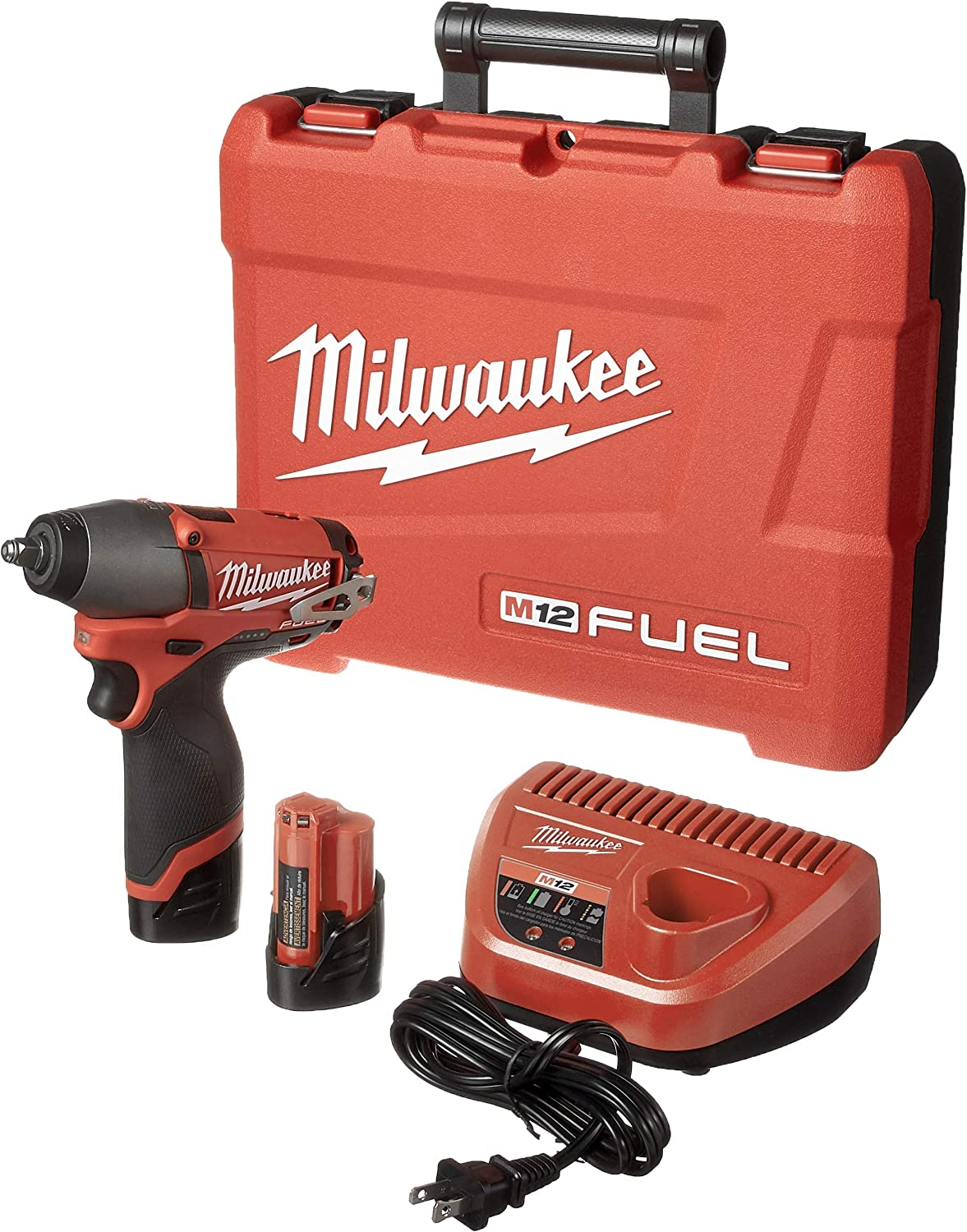 Tool-Only Impact Wrench Milwaukee 2463-20 M12  Li-ion Cordless 3//8 in FREESHIP