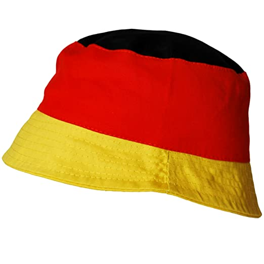 Thb Richter Deutschland Malerhut Fanhut Fanartikel Fussball Fischerhut Deutschlandfarben Wm Em Hut Hute Fanclub Germany
