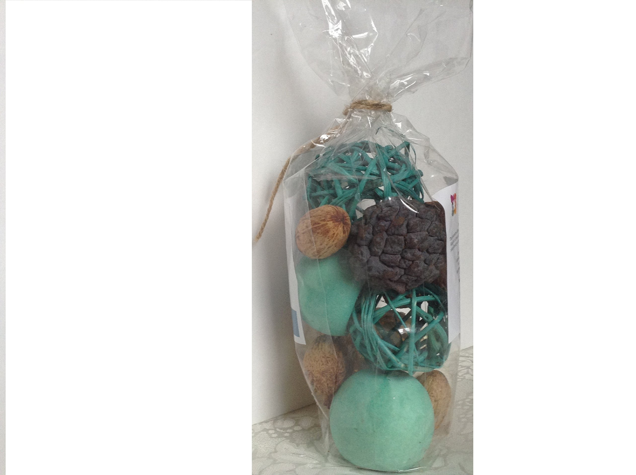 Decorative Vase and Bowl Filler for Your Home Decor (Turquoise Blue)