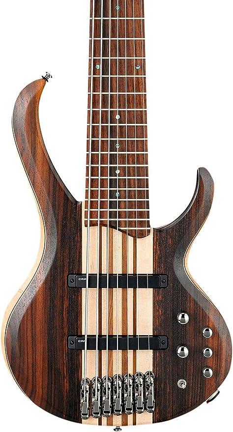 Ibanez btb7e (7 cuerdas de guitarra eléctrica plana natural ...