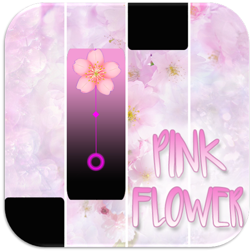 Pink Flower Magic Tiles Go