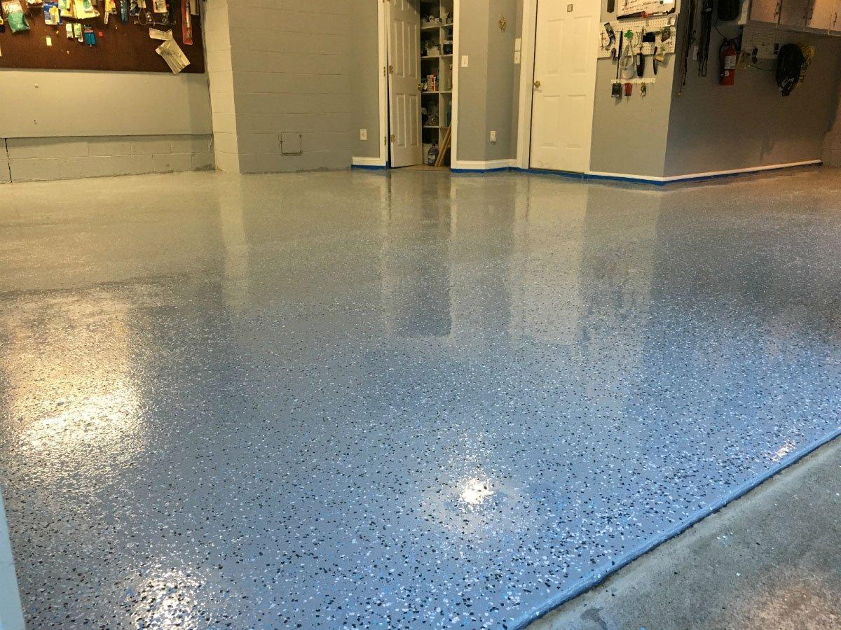 Armor Chip Garage Epoxy Flooring Kit 550 Square Feet