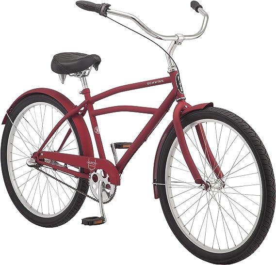 Schwinn Huron and Mikko - Bicicleta de playa para adultos, con marcos de acero de 17 pulgadas y medianos, trenes de transmisión de 1-3-7 velocidades: Amazon.es: Deportes y aire libre