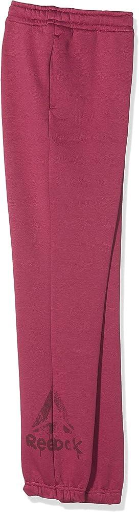 Reebok G Elem Fleece Pantalón de Chándal, Niñas, Multicolor ...