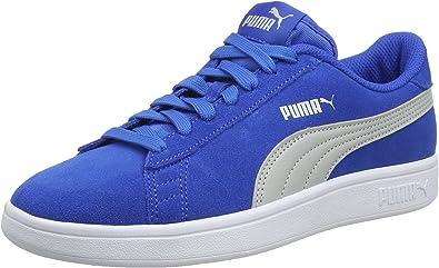 puma smash v2 bleu