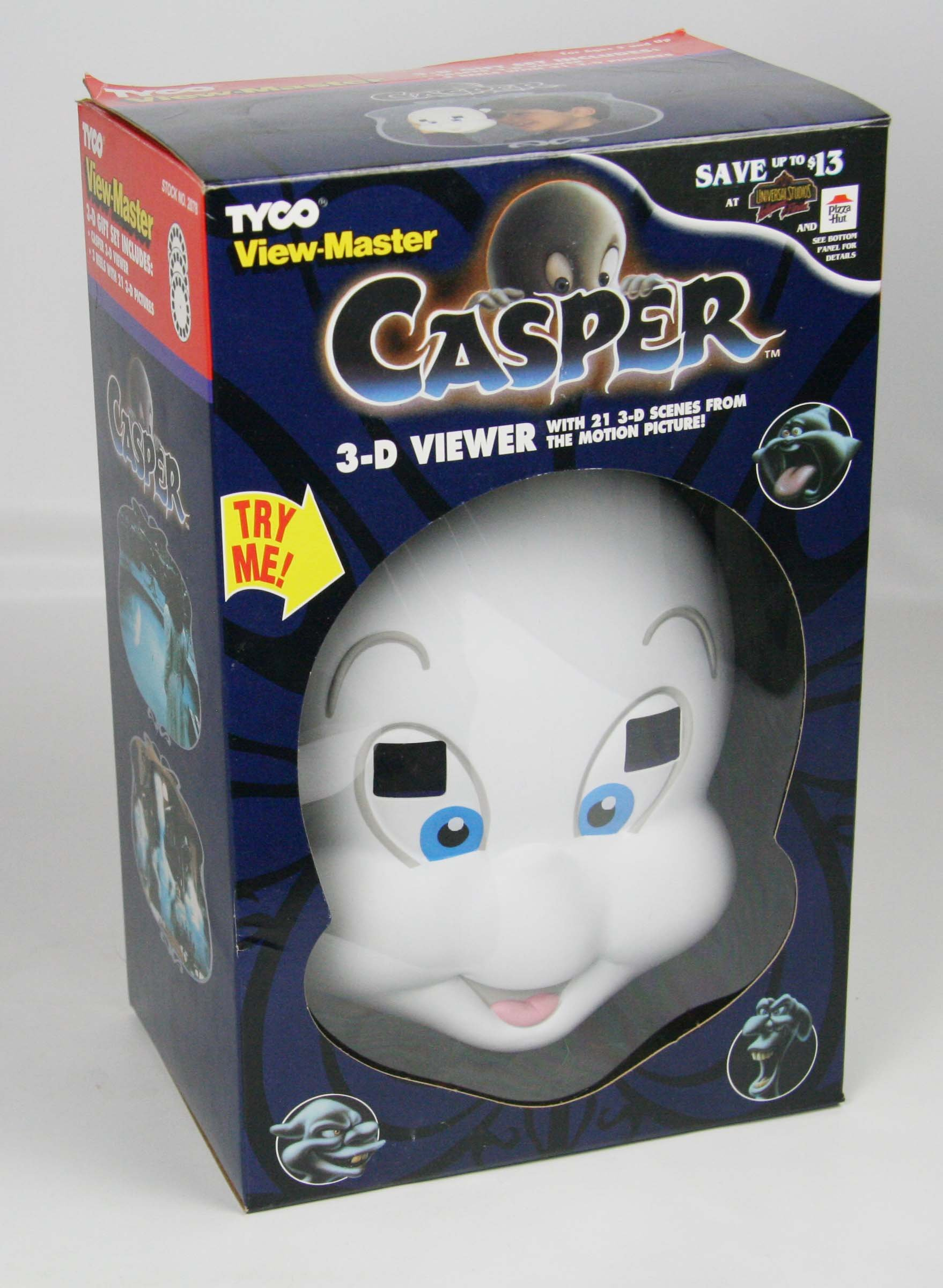 ViewMaster - Casper Character Viewer & 3 reels from 1995 movie - NEW by 3Dstereo Gift Set (Image #2)