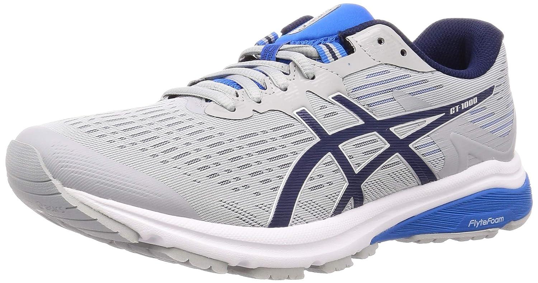 Asics Gt-1000 8, Zapatillas de Running para Hombre, Azul (Electric Blue/Silver 401), 39.5 EU: Amazon.es: Zapatos y complementos