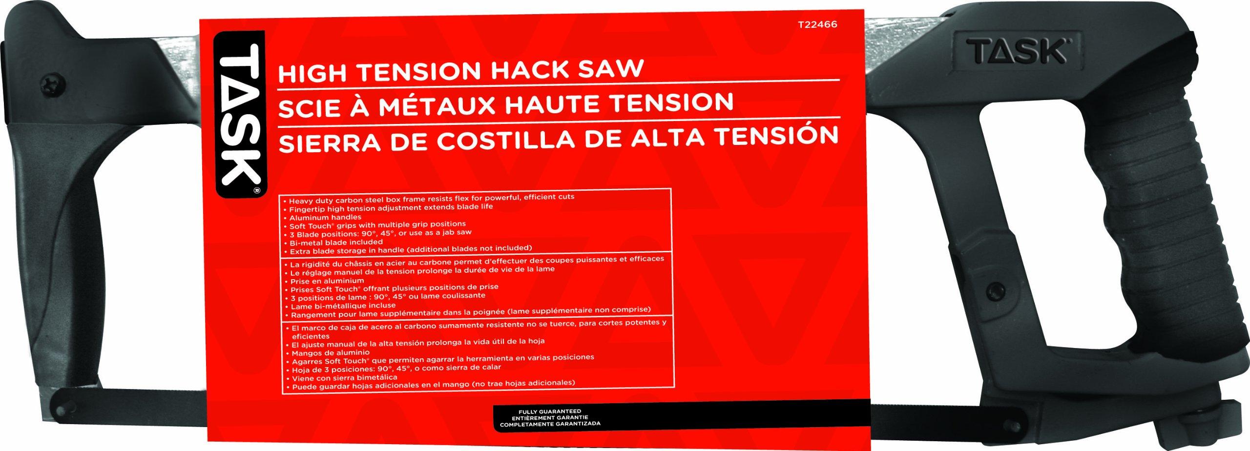 Task Tools T22466  Contractor Hacksaw