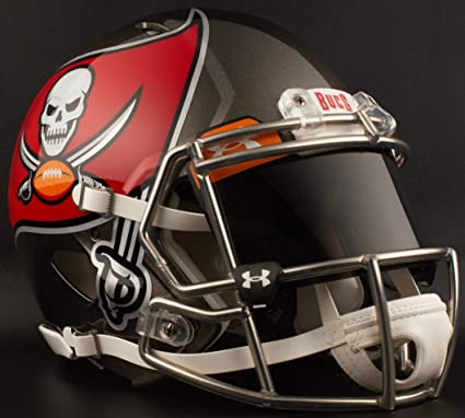 Image Unavailable. Image not available for. Color  Riddell Tampa Bay  Buccaneers NFL Gameday Replica Football Helmet ... b72af6582