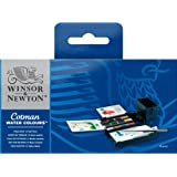 Winsor & Newton Cotman Aquarellfarbe Field Box 12 halbe Näpfe