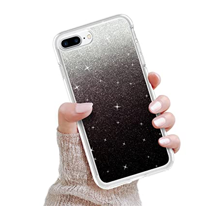 Amazon.com: iPhone 8 plus funda, Bling iPhone 7 Plus Funda ...