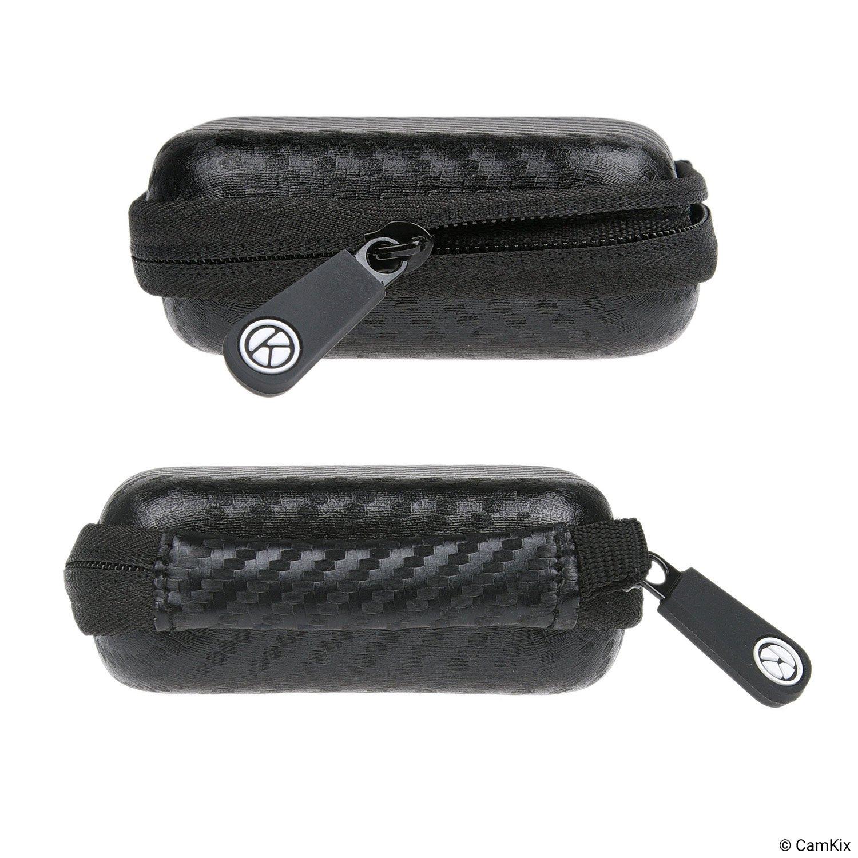 De nylon duradera con bolsillo de malla Funda protectora para Ledger Nano S Bitcoin Billetera criptomoneda que incluye correa USB para transporte alimentaci/ón y transferencia de datos
