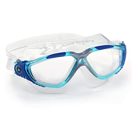 114192094264 Aqua Sphere Vista Swim Mask (Clear Lens