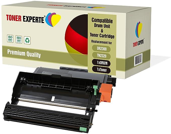 Pack de 3 TONER EXPERTE Compatibles DR2300 TN2320 Tambor para ...