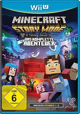 Minecraft Story Mode Das Komplette Abenteuer A Telltale Game - Minecraft spiele videos deutsch