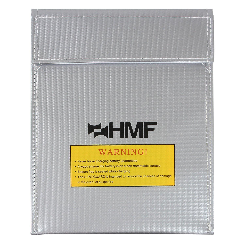 HMF 44145 LiPo Guard, Fireproof Bag, Battery Safety Bag, 23 x 18 cm