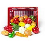 L.A.P. Learn And Play 53416 - Cestino Verdura, Multicolore