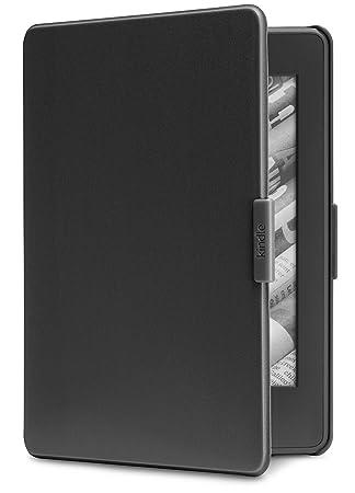 b26771c53 Capa para Kindle Paperwhite, cor preta (compatível somente com modelos  Kindle Paperwhite)