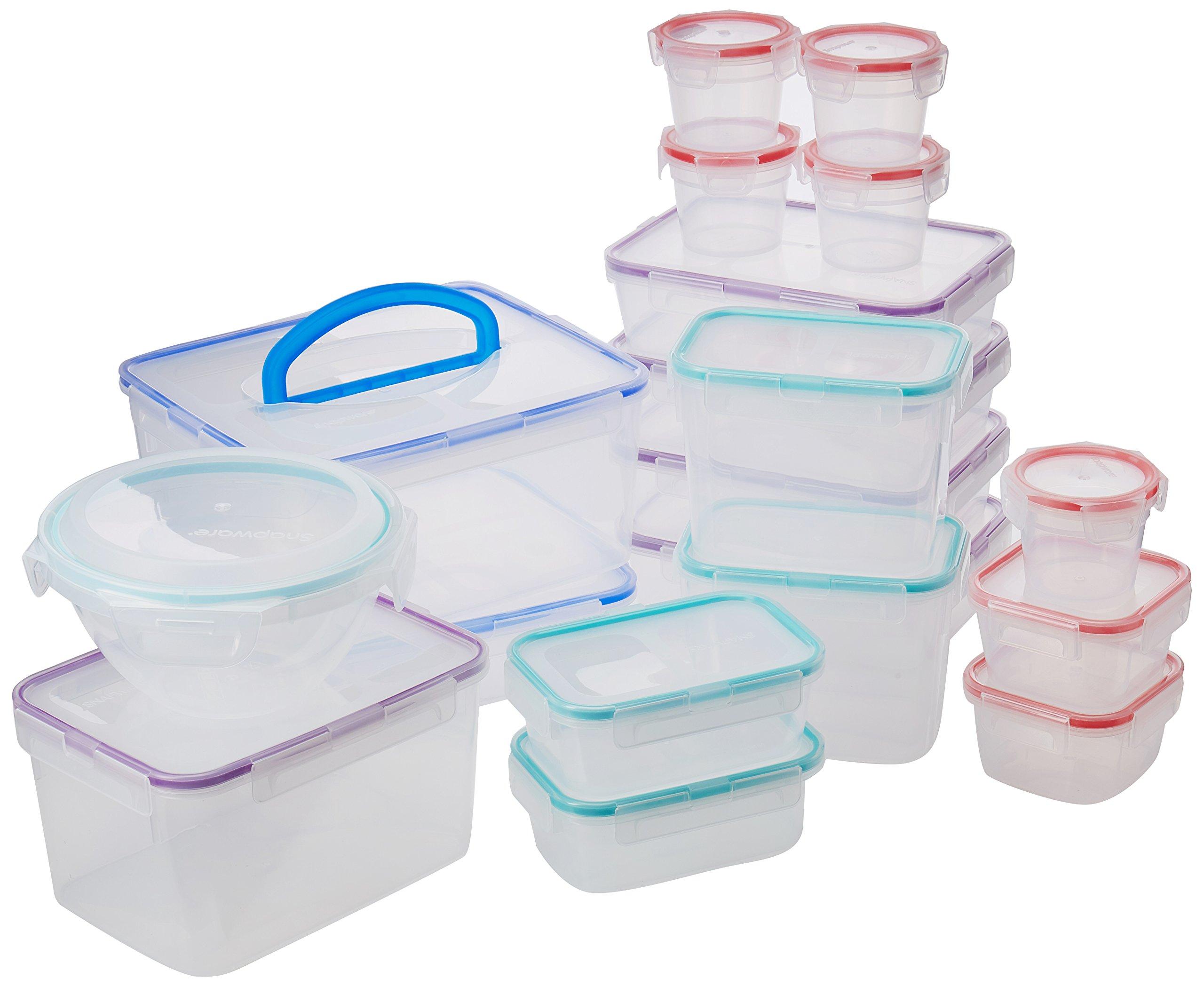 Snapware Airtight Food Storage Set, Plastic, 38-Piece