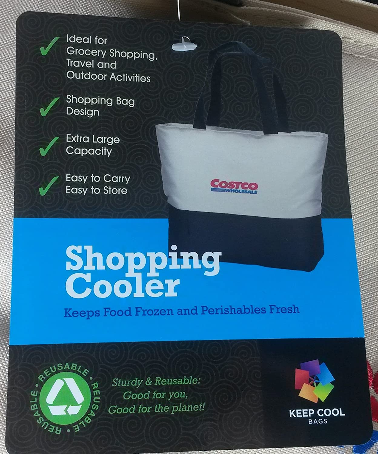Costco Kirkland Giant Flexible Extra Large 12 Gal Cooler Bag Tote ...