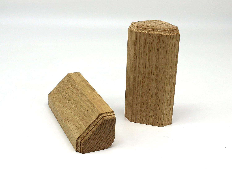 15 Trim Molding 1 x 3 x 6 Oak Inside Radius Corner Base Block