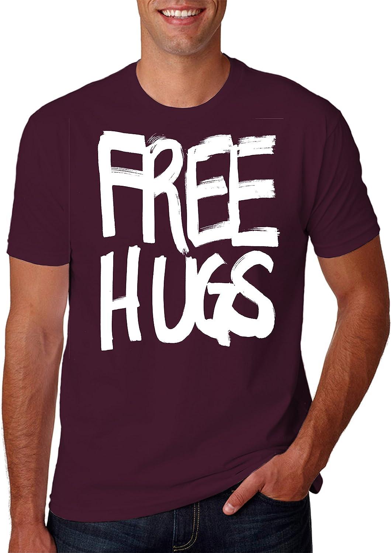 Hot Ass Tees Adult Free Hugs - Love Funny Novelty Parody Positive T-Shirt