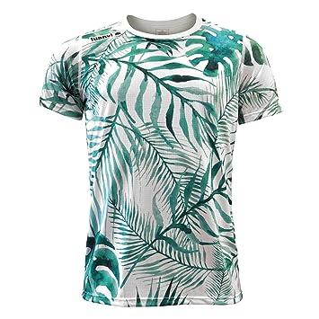 fbc6faebfa4cb Luanvi Edición Limitada Camiseta técnica trópico