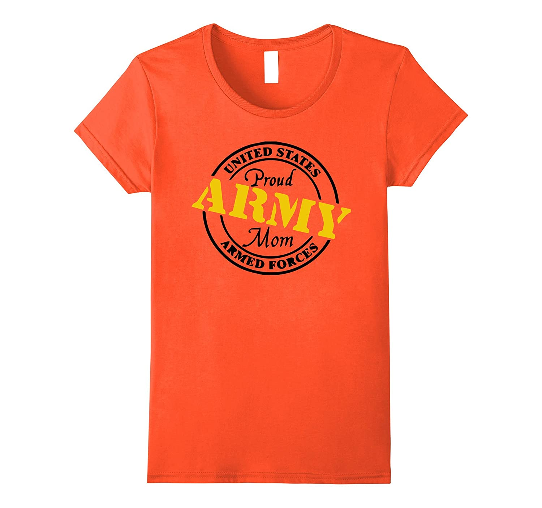 Womens U.S. ARMY PROUD ARMY MOM T-SHIRT-ANZ - Anztshirt 48203d0f32