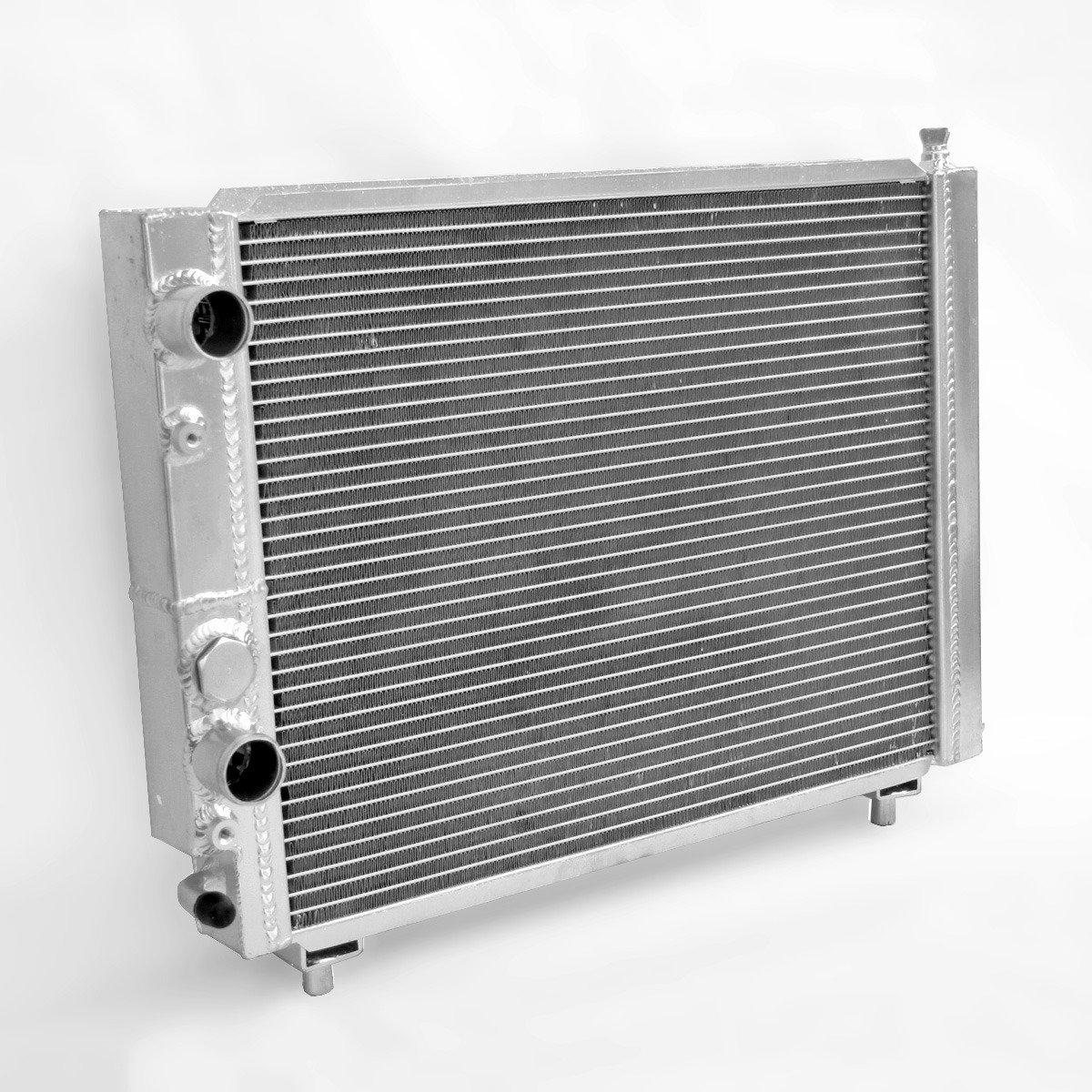 Supeedmotor Radiador para Lancia Delta HF Integrale 8 V/16 V/EVO 2.0 Turbo Carrera de aluminio de 1987 - 1995: Amazon.es: Coche y moto