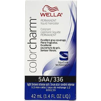 Amazon.com : Wella Color Charm Liquid Permanent Hair Color 336/5AA ...