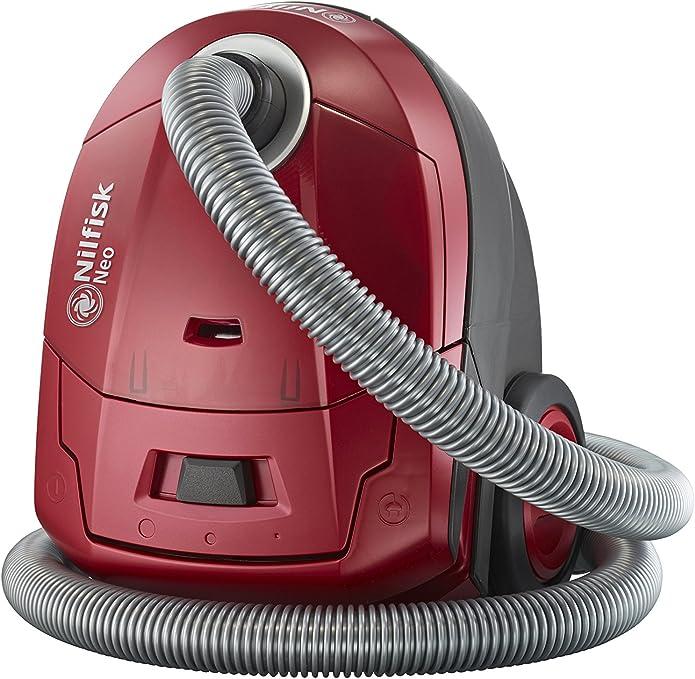 Nilfisk 128350570 Aspirador de Trineo con Bolsa Rojo Neo R10P05A, Set de 7 Piezas: Amazon.es: Bricolaje y herramientas