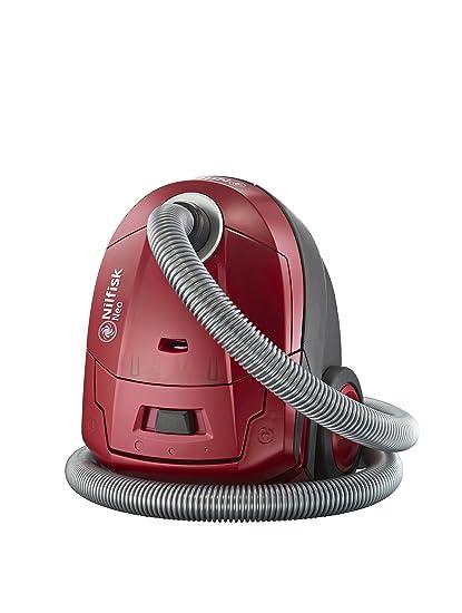 Nilfisk Neo r10p05 a aspirador pequeño formato, rojo, set de 7 piezas