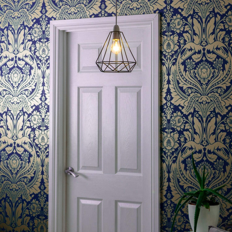 lustre Home Treats Abat-jour 6 /él/égants motifs de licorne papillon cristal cage en cuivre et noir