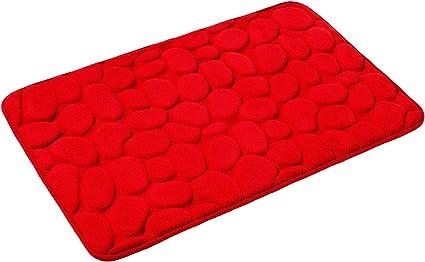 rutschfest /& waschbar Farben PANA Memoryschaum Badematte in versch Duschvorleger 60 x 90 cm Badteppich aus weichen Mikrofasern