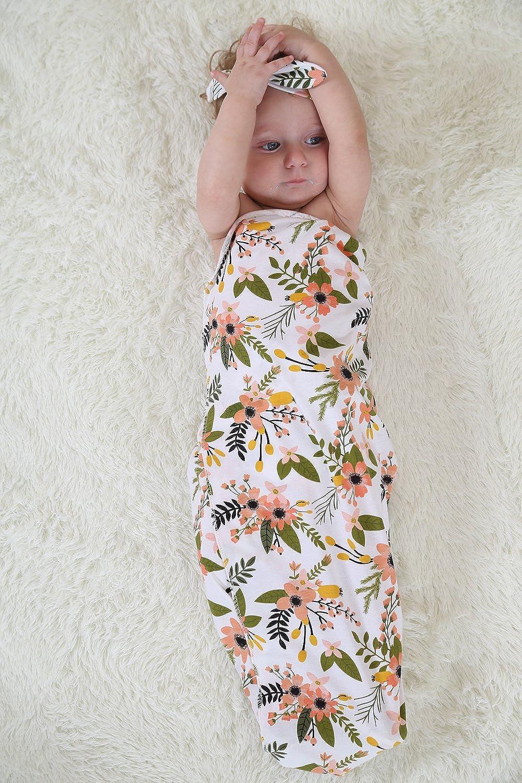 Quest Sweet - Juego de envoltura para bebe recién nacido, envoltura tipo capullo, conjunto de manta y tiara (paquete de 1-3) .: Amazon.es: Ropa y accesorios