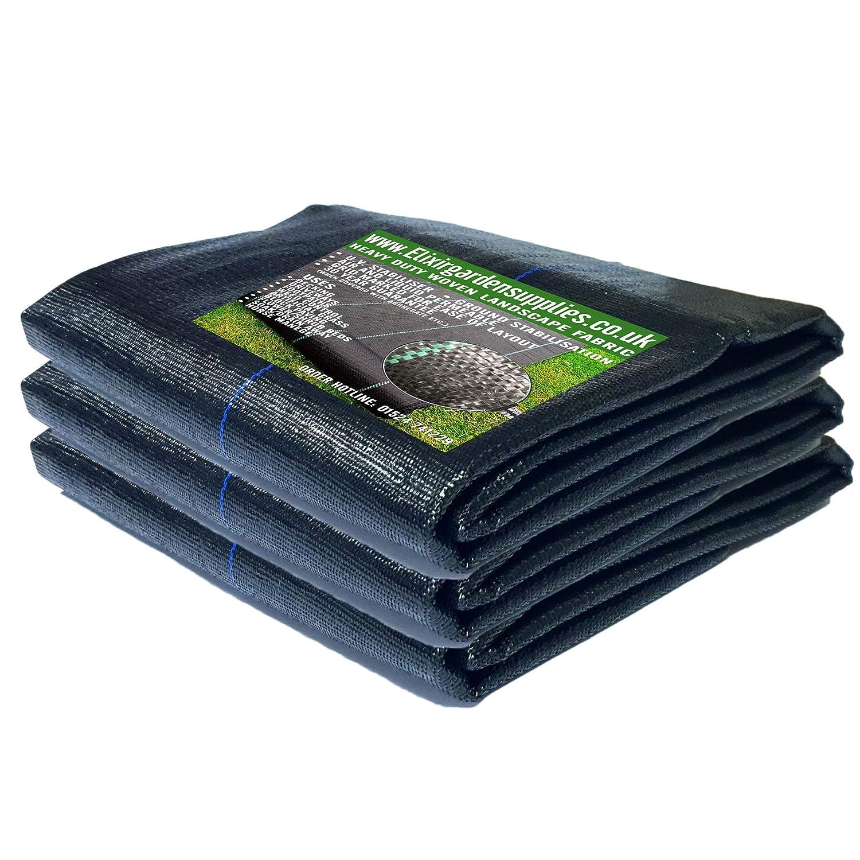 3m WideElixir Gardens® Woven Ground CoverLandscape FabricWeed Membrane