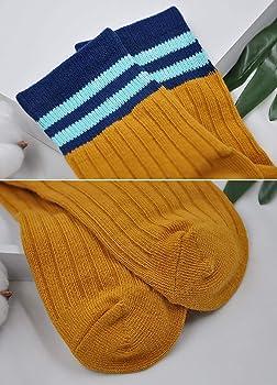 LOFIR Boys Socks Kids Cotton Socks Toddler Crew Novelty Socks Multicoloured Athletic Running Ankle Socks Casual Sports School Socks for Boys//Girls 2-11 Years 5 Pairs