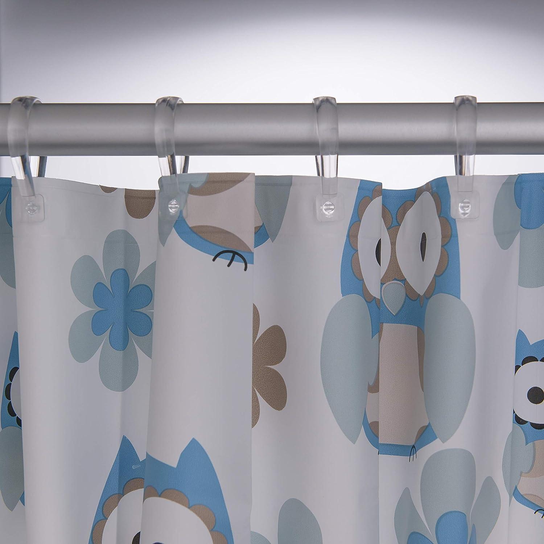 Sealskin Owl Tenda da Doccia PEVA 180 x 200 cm Blu