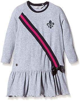 Zunstar Julia-Vestido de niña Gris Gris Talla:FR : 3 ANS (Taille