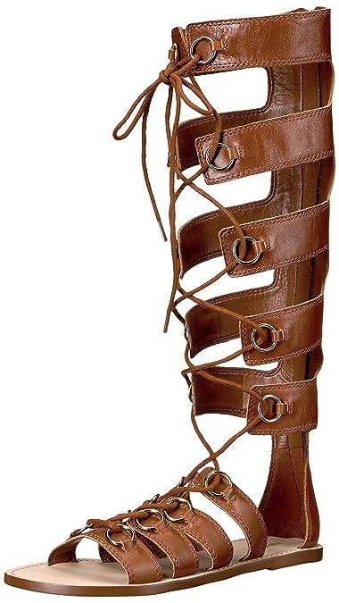 05bd38c40 Nine West Women s Tirion Leather Gladiator Sandal