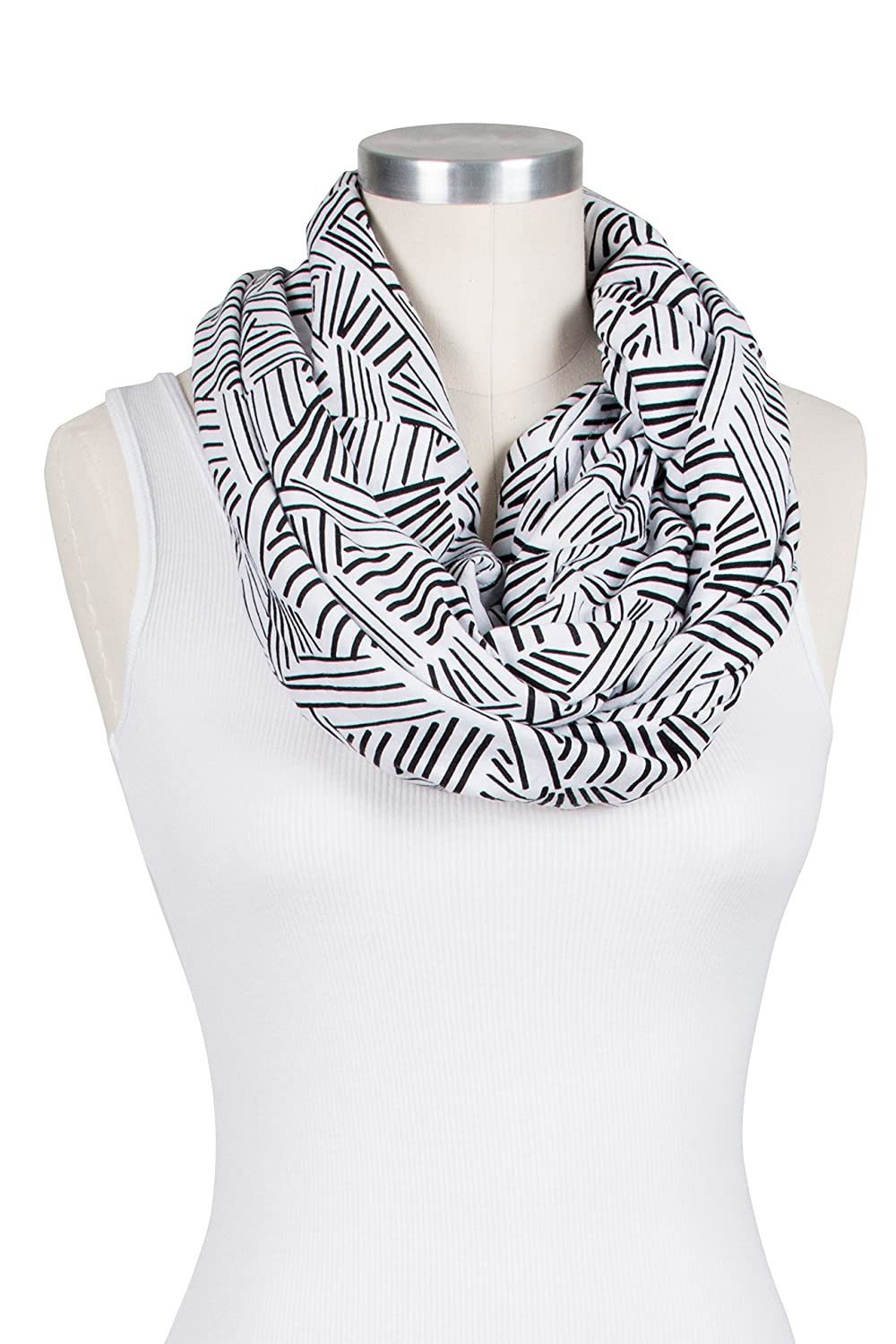 Bebe au Lait Premium Cotton Jersey Nursing Scarf, Lexington SFBJLX