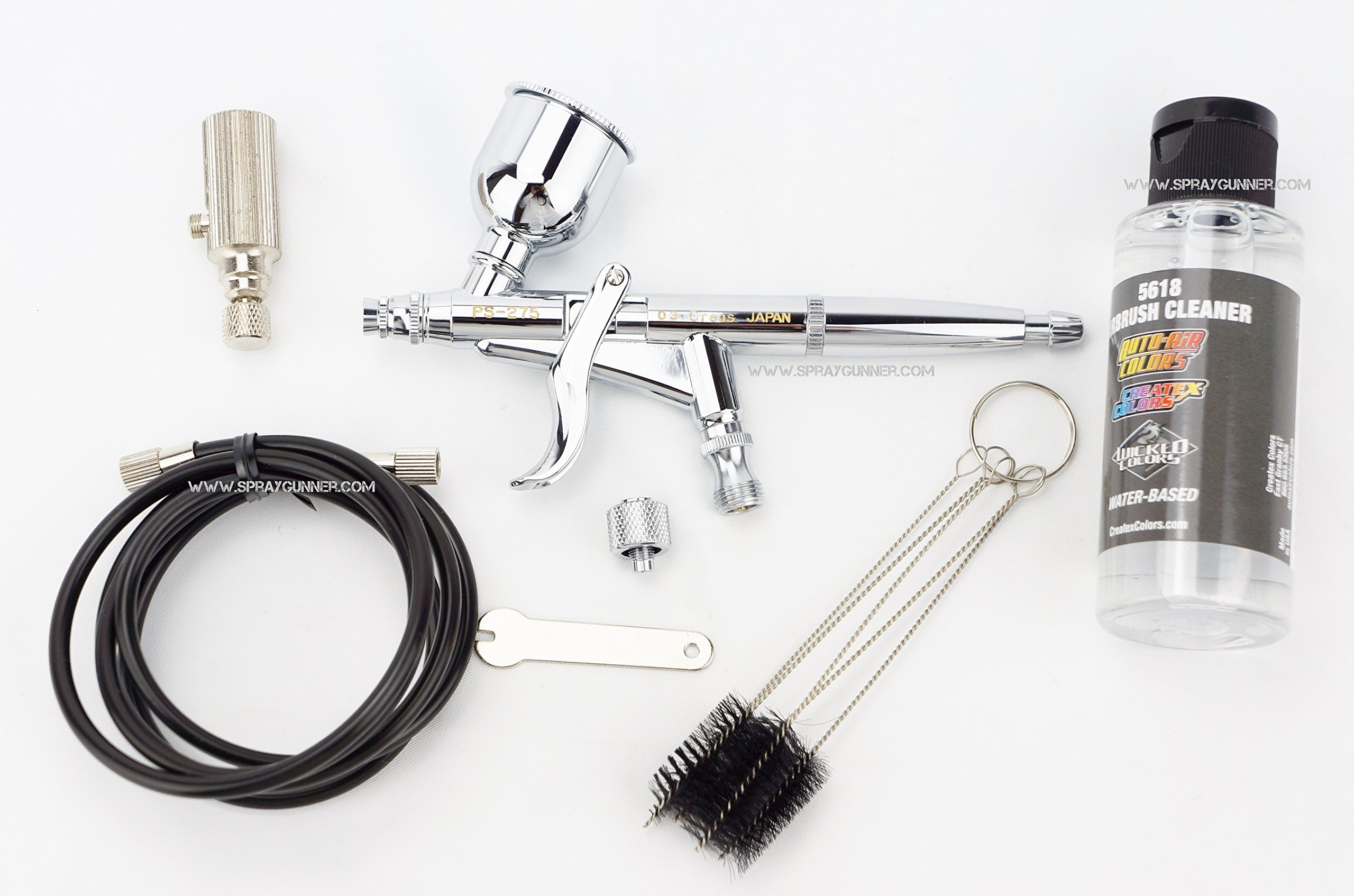Procon Boy MR. AIRBRUSH GSI Creos PS-275 Trigger Type mr hobby airbrush 0.3mm nozzle with BONUS by SprayGunner