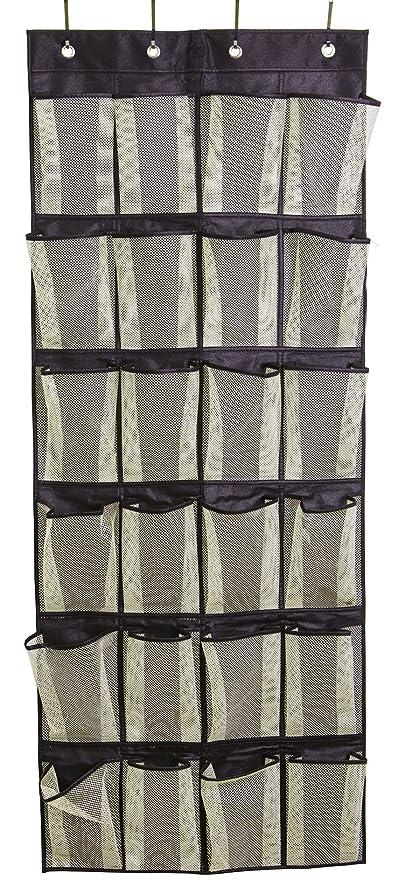 Misslo Over the Door Organizer 24 Large Mesh Storage Pockets